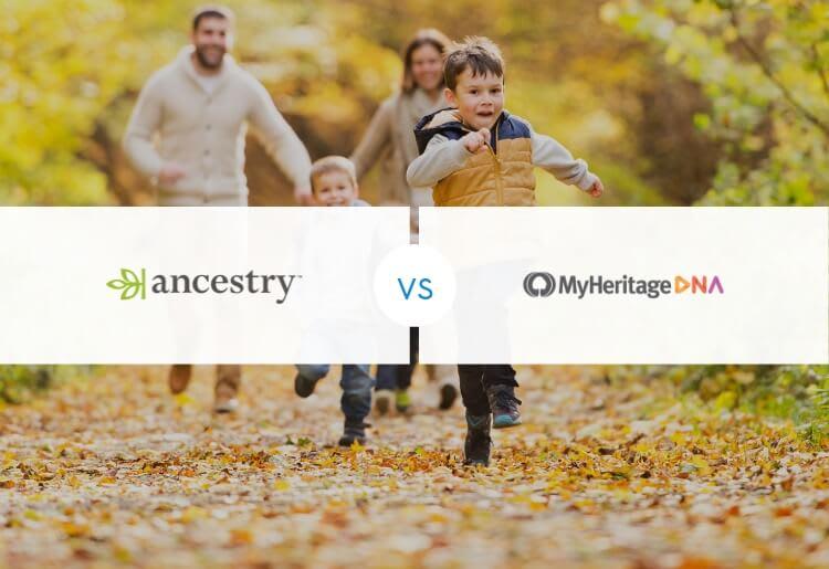 AncestryDNA vs. MyHeritageDNA
