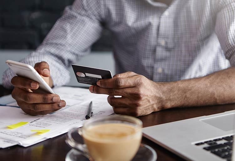 Ordering business checks online