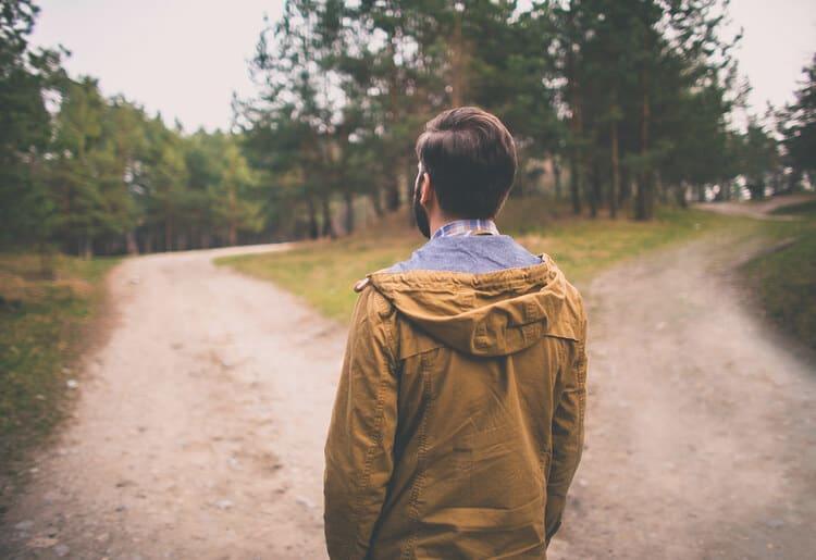 At a crossroads