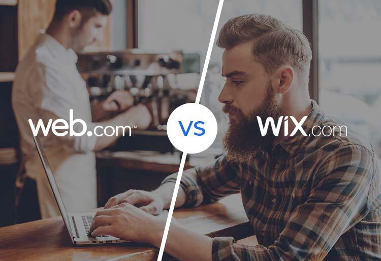 Web.com vs. Wix