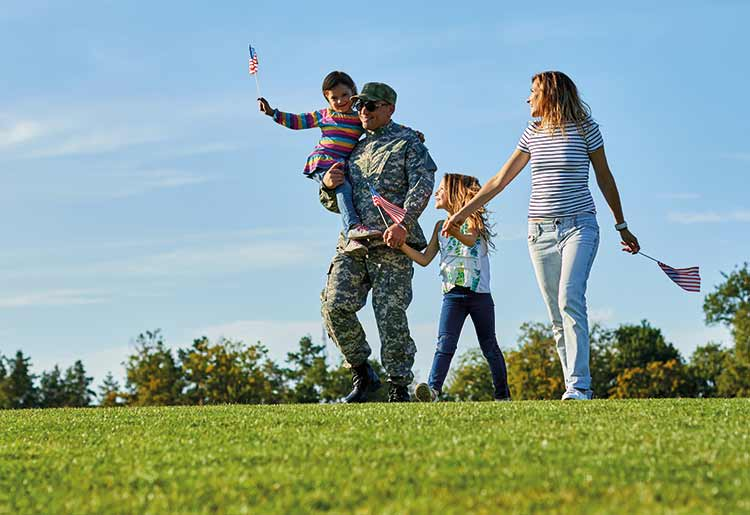 A personal loan can help military veterans get back into the swing of civilian life