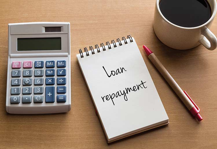 It's important to plan how you're going to repay your loan before you take it out