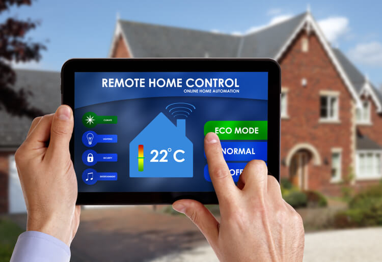 The many advances in technology on home security front