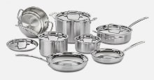 Cuisinart Multiclad Pro Stainless Steel 12-pc Set