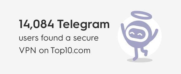 VPN Telegram Promotion sidebar