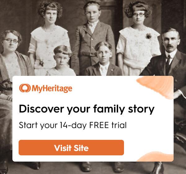 DNA genealogy side banner