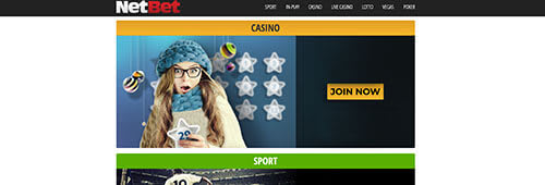Start playing at NetBet today