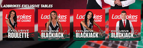 Take a break from sports betting with Ladbrokes' live casino