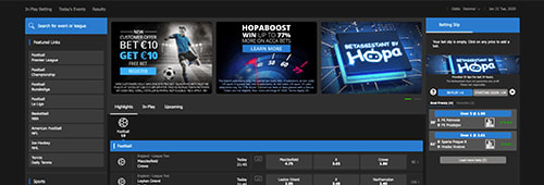 Hopa betting site