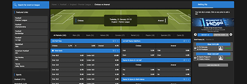 Sport betting and markets