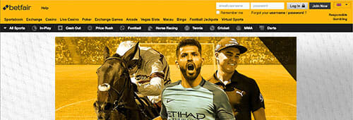 Betfair is one of the biggest names in online gambling