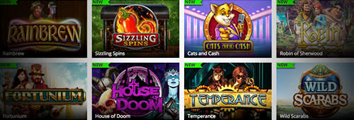Mr Play has hundreds of casino games to choose from