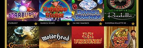 Regal Wins has a wide range of games
