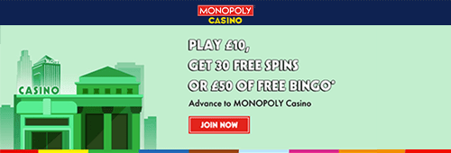 Monopoly Casino Promotions