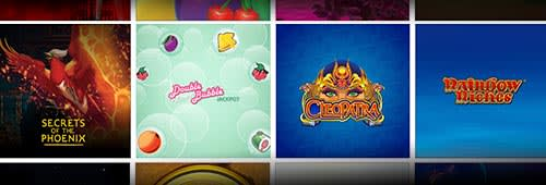Play a range of slot games at Virgin Games