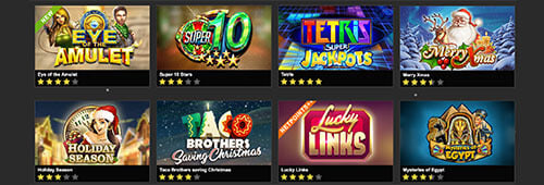 NetBet has a wide range of games powered by leading software providers