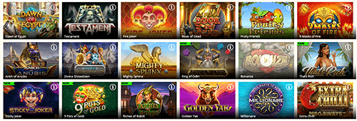 Range of games