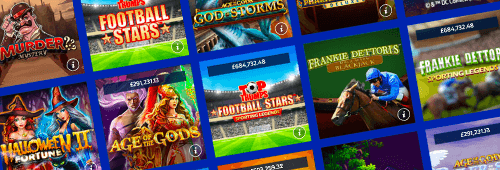 Play a range of casino games today