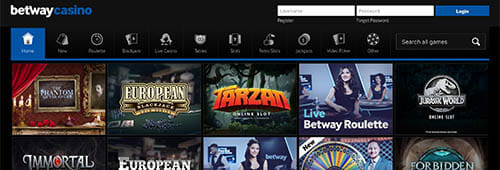 Betway has a huge range of Microgaming-powered games