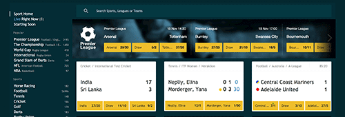 Grosvenor also hosts an online sportsbook