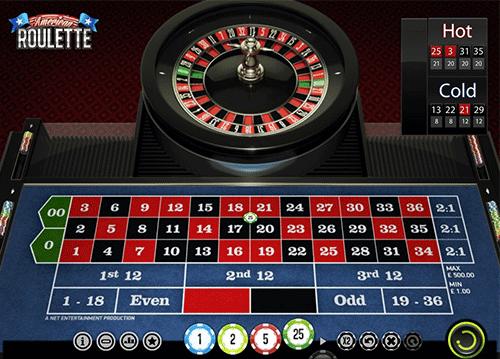 Roulette corner bet