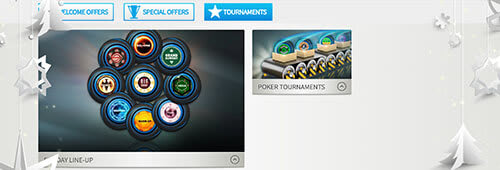 NetBet hosts live poker tournaments