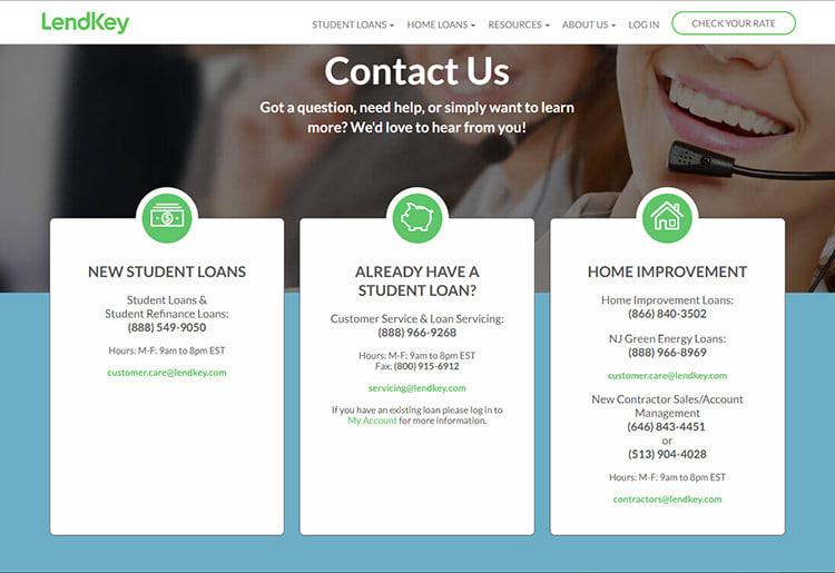 LendKey Customer Service