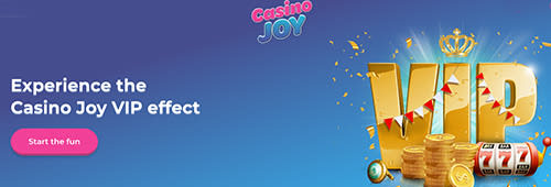 Join Casino Joy's VIP programme today