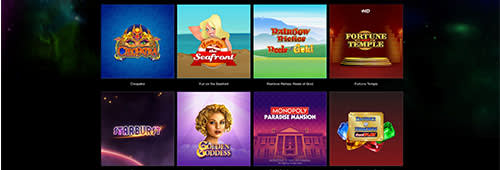 Starspins has an extensive range of slots