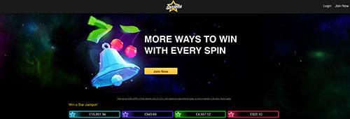 Start spinning at Starspins