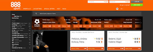 Start placing bets at 888sport