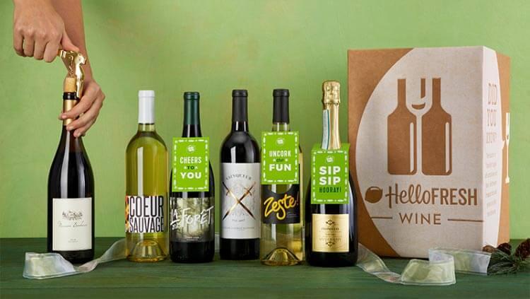 HelloFresh wine