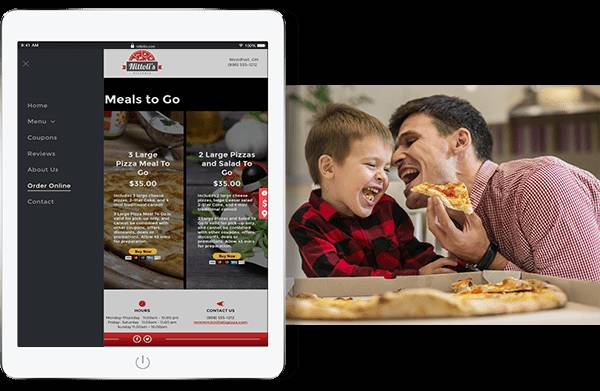 Website designed by Hibu designers