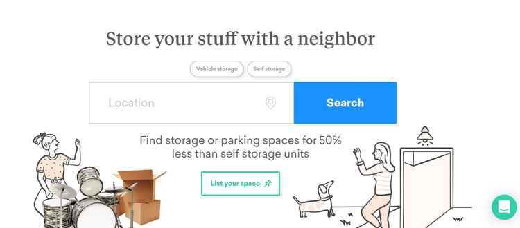 Neighbor storage
