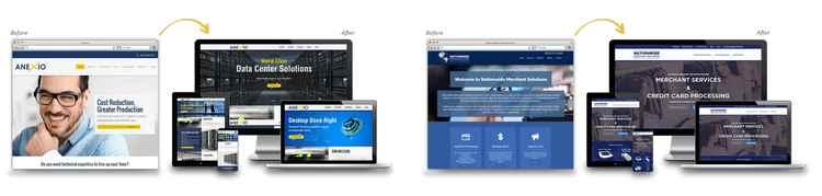 Smart Sites website designs