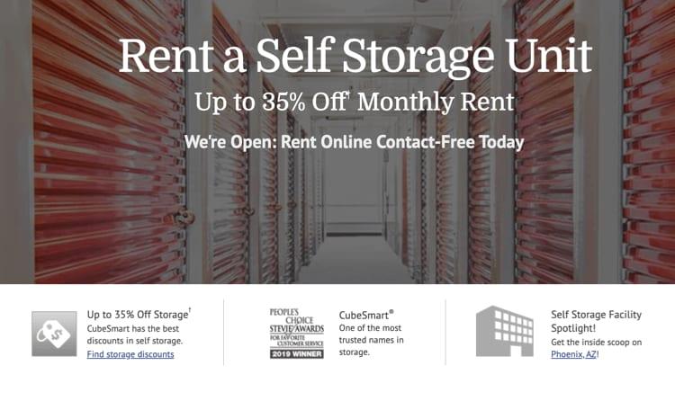 CubeSmart storage