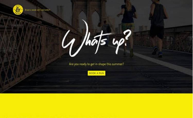 A website designed by Yahoo Small Business website design