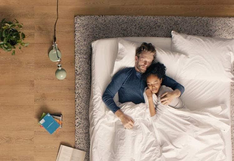 Review of Casper Mattresses - Couple Sleeping on Casper