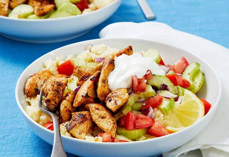 EveryPlate chicken bowl