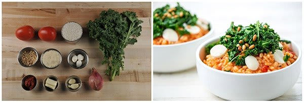 Home Chef - Tomato and Mozzarella Risotto