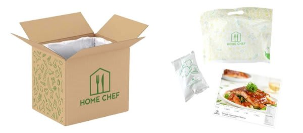 Home Chef review - what's in the box?