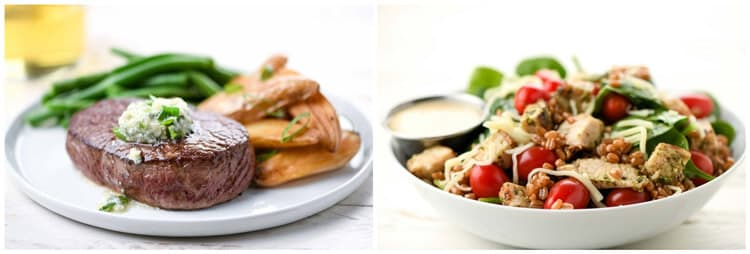 Home Chef meal options