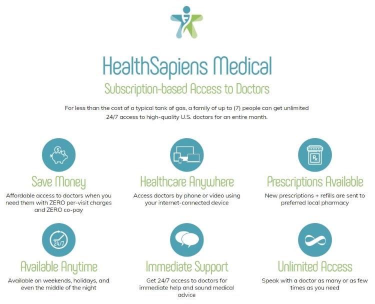 HealthSapiens Benefits