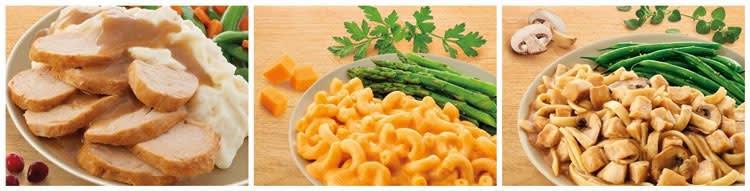 Nutrisystem dinner menu