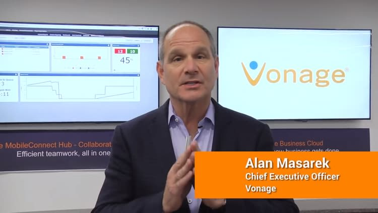 Vonage CEO