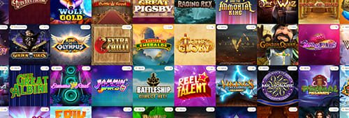 A range of games are available at Winning Room