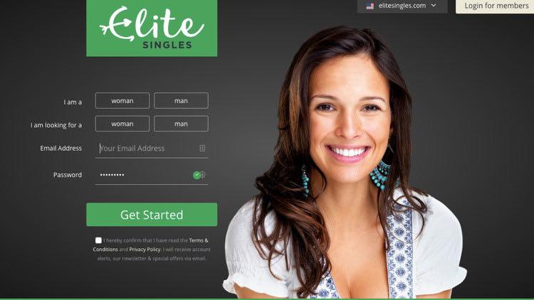 EliteSingles signup