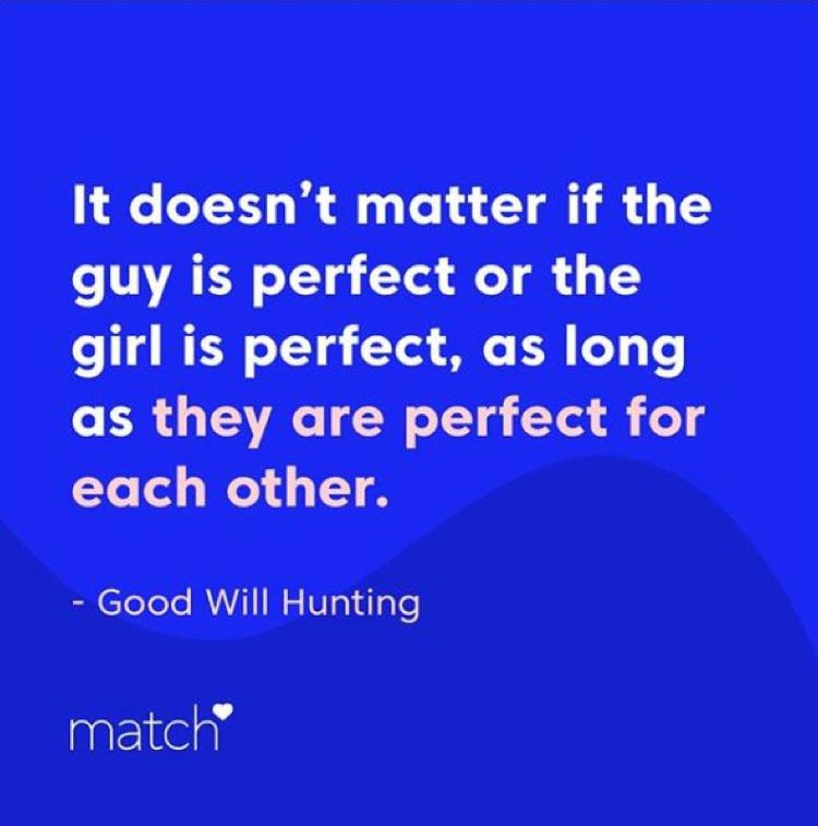 Match quote about love