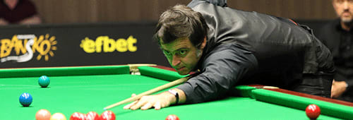 Ronnie O'Sullivan is a one-time Snooker UK Championship winner