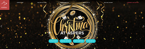 Play your favourite games at Aspers Casino
